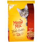 Meow Tender Centers Dry Cat Food Salmon & White Meat Chicken Flavors 13.50Lb (Pack Of 1)