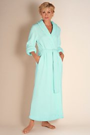 Petites Classic Chenille Robe - Blue Lagoon | Amazon.com