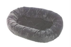 Onyx Donut Extra Large Dog Bed by Bowsers
