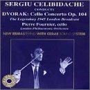 Dvorak: Concerto for cello in Bm