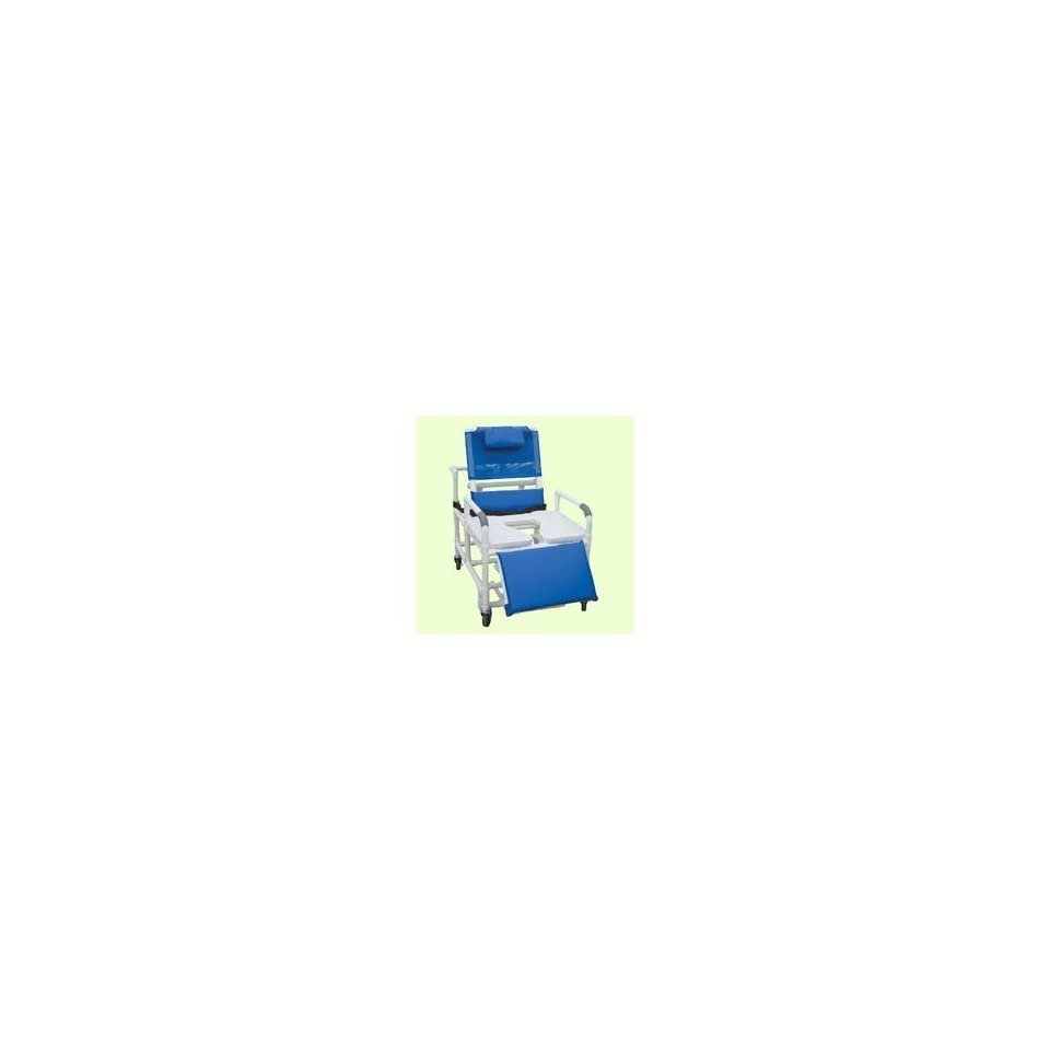 MJM International Bariatric Reclining Shower Chair with