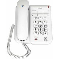 BT Decor 2100 Corded Analogue Telephone- (BT30441) Reviews