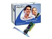 Devolo MicroLink LAN PCI - Adaptateur r?seau - PCI faible encombrement - Ethernet, Fast Ethernet - 10Base-T, 100Base-TX