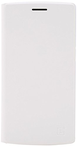OnePlus One Flip Cover (White)