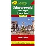Foret Noire / Schwarzwaldblack Forest: Top 10 Tips Sehenswürdigkeiten. Top Citypläne. Ortsiregister mit Postleitzahlen...
