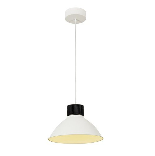 SLV Pendelleuchte Pentuli 38, COB LED, 43W, 3000K, 35 Grad, weiß 165611