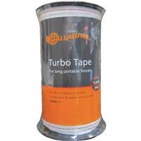 Gallagher G623544 Electric Fence1/2-Inch Turbo Tape, 656-Feet, White