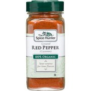 Red Pepper Cayenne Ground, Organic - 1.5 oz,(Spicer Hunter)