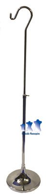 MS10TS - Mannequin Stand, Short Hook Stand w/ 8