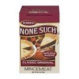 Borden None Such Condensed Mincemeat, Apples & Raisins, 9-ounce Box (Single)