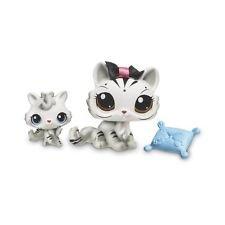 Littlest Pet Shop White Tiger Mommy Amp Baby Pair 3585 And
