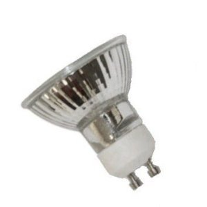 Anyray A1817Y (5)-Bulbs 20 Watt Gu10 Base 20Watts Bab Halogen Flood Light Bulb 120-Volts 20W Lensed