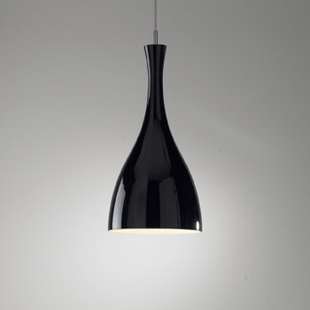 Tone Glass Pendant Black