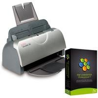 Xerox DocuMate 152 Color ADF 8.5x14 Duplex Scanner - Bundle