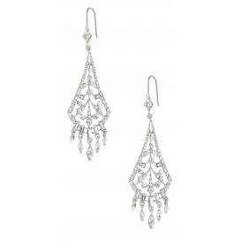 Penelope Fan Shaped Drop Earring