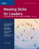 img - for Meeting Skills for Leaders: A Practical Guide for More Productive Meetings (Crisp 50-Minute) book / textbook / text book