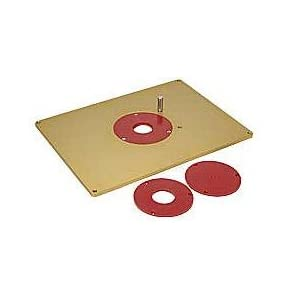 Aluminum Router Table Insert Plate - - Amazon.com
