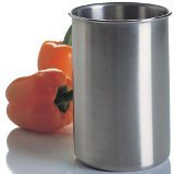 Amco Brushed Stainless Steel Utensil Crock