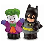 Fisher-Price Little People DC Super Friends Batman & The Joker Figure Pack