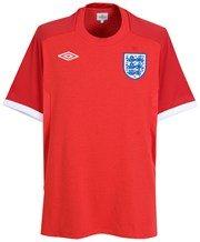 ENGLAND 2010/2011 Away Junior Football Shirt, Junior L