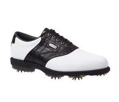FootJoy Dryjoys Golf Shoes White 7.5 UK 53562
