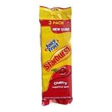 Juicy Fruit Starburst Cherry Gum Sticks, 45 piece per pack -- 20 per case. (Cherry Juicy Fruit compare prices)