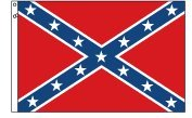 Confederate Battlefield Flag 5 x 8 Cotton Flag
