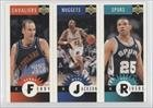 Danny Ferry, Doc Rivers (Basketball Card) 1996-97 Upper Deck Colletor'S Choice International German Mini-Cards #Mn/A