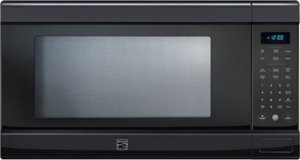 Kenmore 79209 Elite Black 2.0 cu. ft. Countertop Microwave w/ TrueCookPlusTM Technology (Kenmore Microwave Black compare prices)