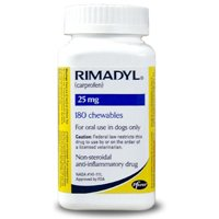 Rimadyl (carprofen) 25mg, 180 Chewable Tablets Picture