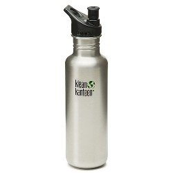 K27Pps Klean Kanteen 27Oz Stainless Steel Water Bottle With Sport-Top-- (Package Of 3) front-1005757