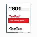 Cleantex Tex Pad Tapehead Wipes, 250/Box