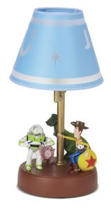 TeleMania 508378 Disney Toy Story Animated Lamps: Woody Buzz Talking Lamp