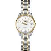 Longines Master Collection In Steel And 18k Gold Automatic Womens Watch from designer Longines