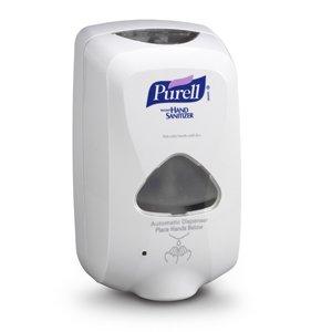 Purell TFX Touch Free Soap Dispenser, 1200ml, 6-1/2w x 4-1/2d x 11-1/4h, Gray