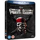 Pirates of Caribbean: On Stranger Tides Blu-ray SteelBook Double Play (Import)