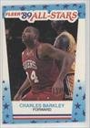Charles Barkley Philadelphia 76ers (Basketball Card) 1989-90 Fleer Stickers #4 at Amazon.com