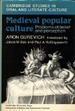 Medieval Popular Culture (Cambridge Studies in Oral and Literate Culture)