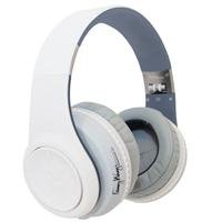 Fanny Wang 3000 Series Over-Ear Wangs Luxury Headphones With Active Noise Canceling And Apple Integrated Remote And Mic - White (Fw-3003-Whi)