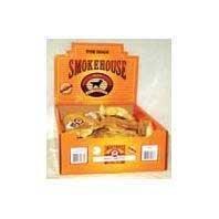 Smokehouse Pet Products Dsm84233 20-Pack Puffed Piggy Snouts Dog Treat Shelf Display Box