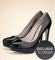 Autograph Italian Exclusive Leather Platform Shoes with Insolia®