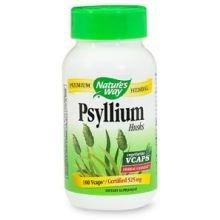 Natures Way Psyllium Husk Vegetable Capsule, 525 Milligram - 100 Per Pack -- 6 Packs Per Case.