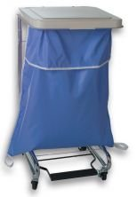 Medline Mdt021374 Blockade Hamper Bags, Grey (Pack Of 12) front-583075
