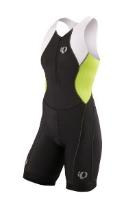 Pearl Izumi Women's Select Tri Suit (Black/Lime, Medium)