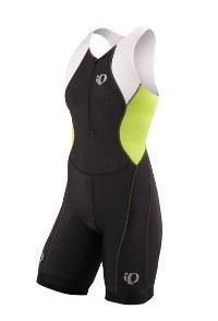 Pearl Izumi Women's Select Tri Suit (Black/Lime, Medium)