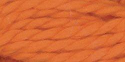 DMC Pearl Cotton Skeins Size 3 16.4 Yards Tangerine 115 3-740; 12 Items/Order