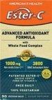 American Health Ester C Advanced Antioxidant 90 Vtabs концентрат health
