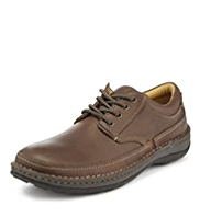 Airflex™ Comfort Leather Lace Up Shoes