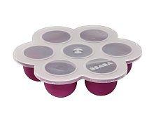 Beaba Multiportion Freezer Tray - Plum