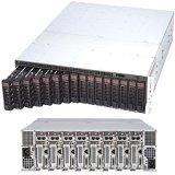 Supermicro SuperServer SYS-5038ML-H8TRF Eight Node LGA1150 1620W 3U Rackmount Server Barebone System - Black